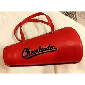 Vtg 50s Mini Cheerleader Megaphone Purse